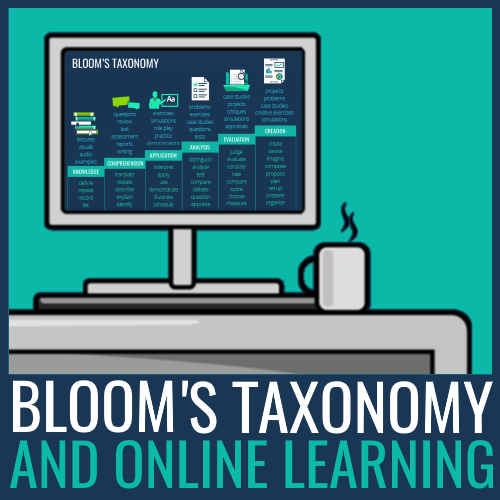 Bloom's taxonomy online learning