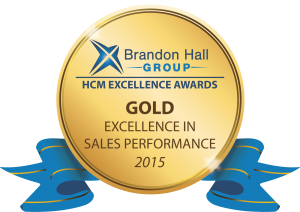 Gold Sales Performance Award