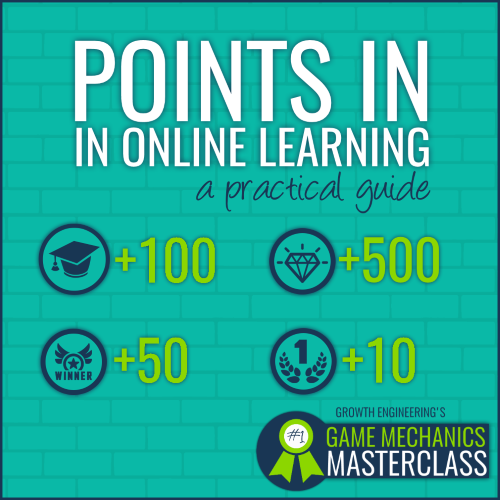 experience points in gamified learning