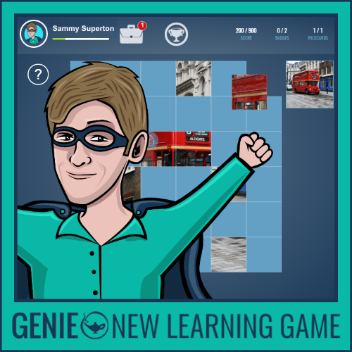 genie new learning game - puzzle pack