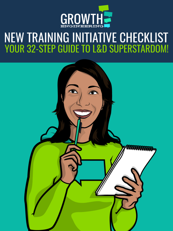 New Training Programme Checklist