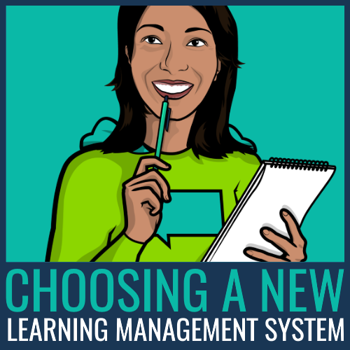 new learning management system