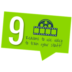 9 reasons to use video to train your staff