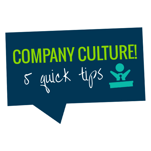 Ways to improve company culture