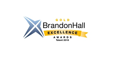 Brandon Hall award Talent 2013