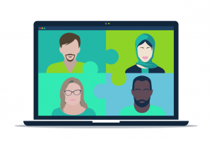Benefit of social learning is maintaining connections while remote working
