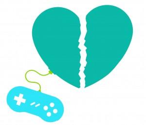 Broken heart gamer