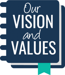 organisational vision and values