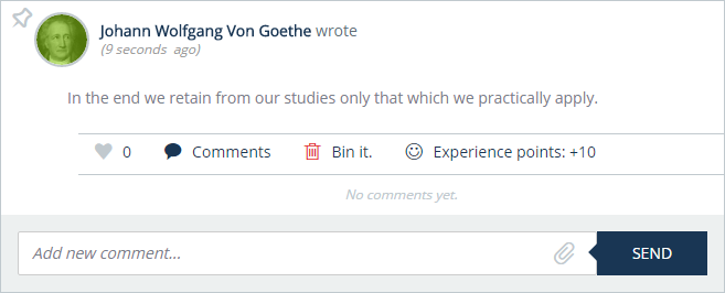 Johann Wolfgang Von Goethe learning quote