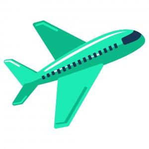 Green aeroplane