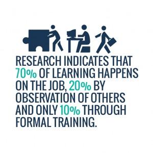 70 20 10 learning framework