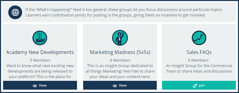 insight groups