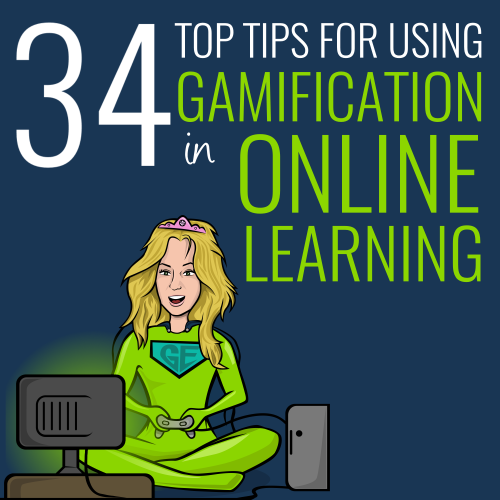 34 tips using gamification online learning