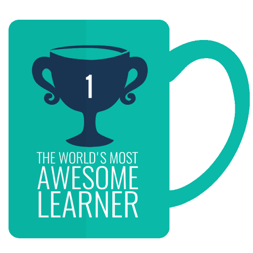 awesome learner mug