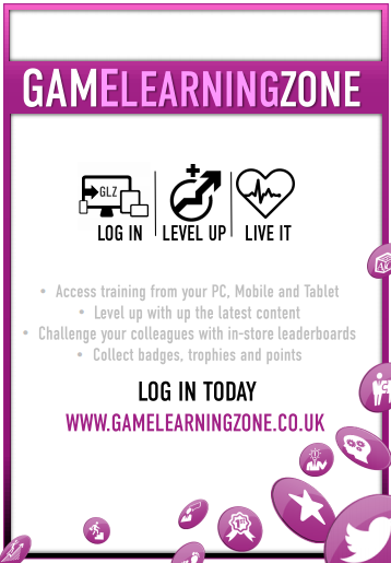 game learning zone poster for new LMS