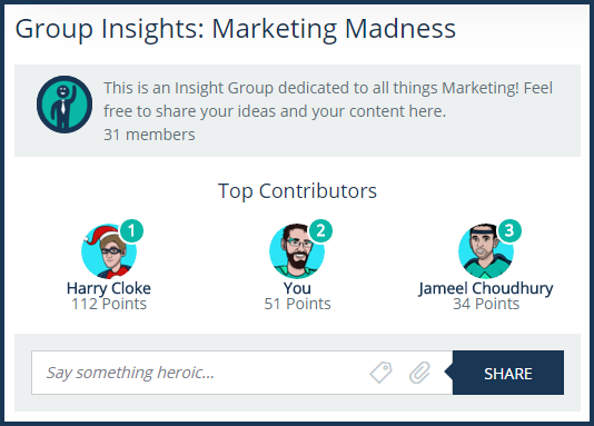 insight group with points
