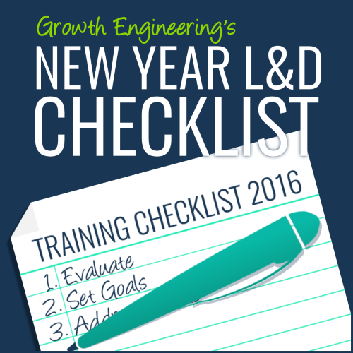 new year learning and development checklist