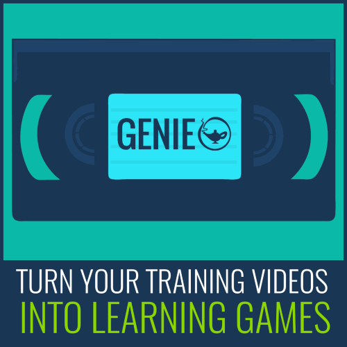 turn training videos into learning games