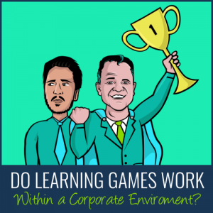 Do Learning Games Work Within A Corporate Environment