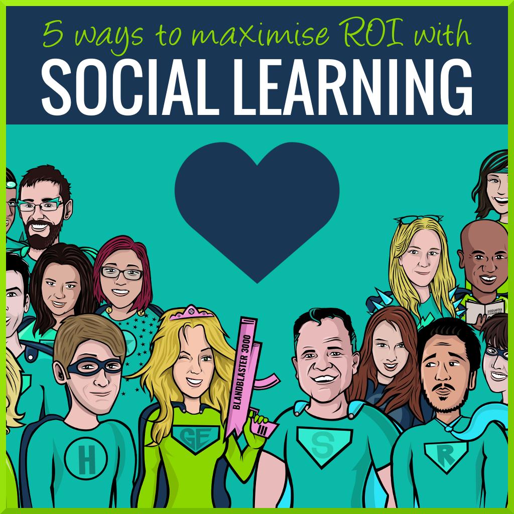social learning ROI