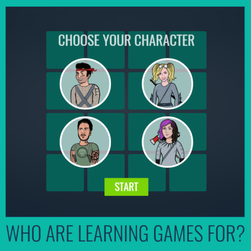 who are learning games for