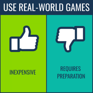 learning games -use real-world games