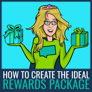 create ideal rewards package feat
