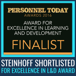 steinhoff shortlisted excellence in l&d