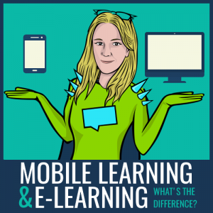 difference between mobile learning and elearning