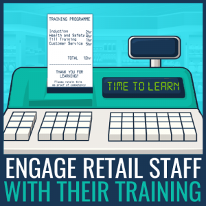 engage retail staff training