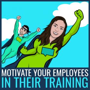 motivate employees in training program