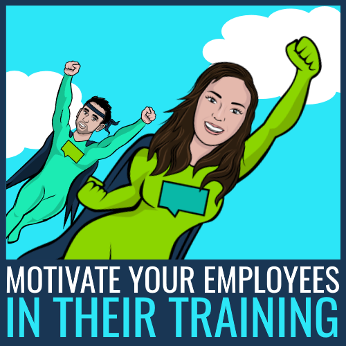 motivate employees in training program