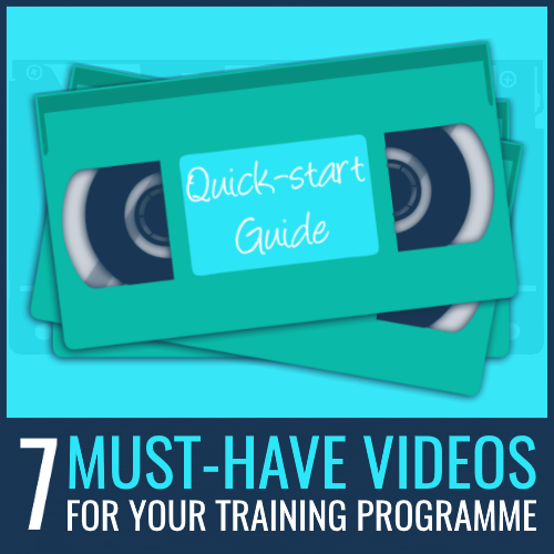 training videos for learning programme