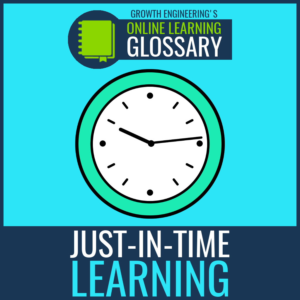 Just-in-time learning