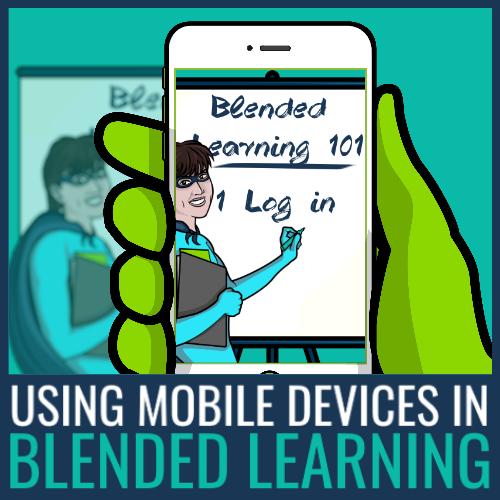 using mobile in blended learning