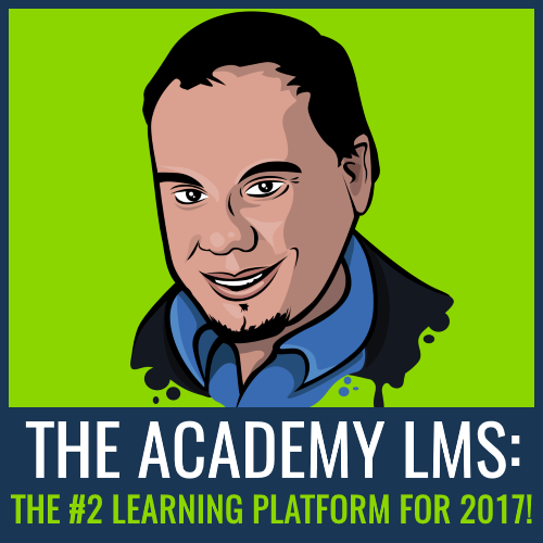 The Academy LMS is the #2 Learning Platform for 2017!