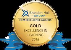 Brandon Hall Gold Awards 2018