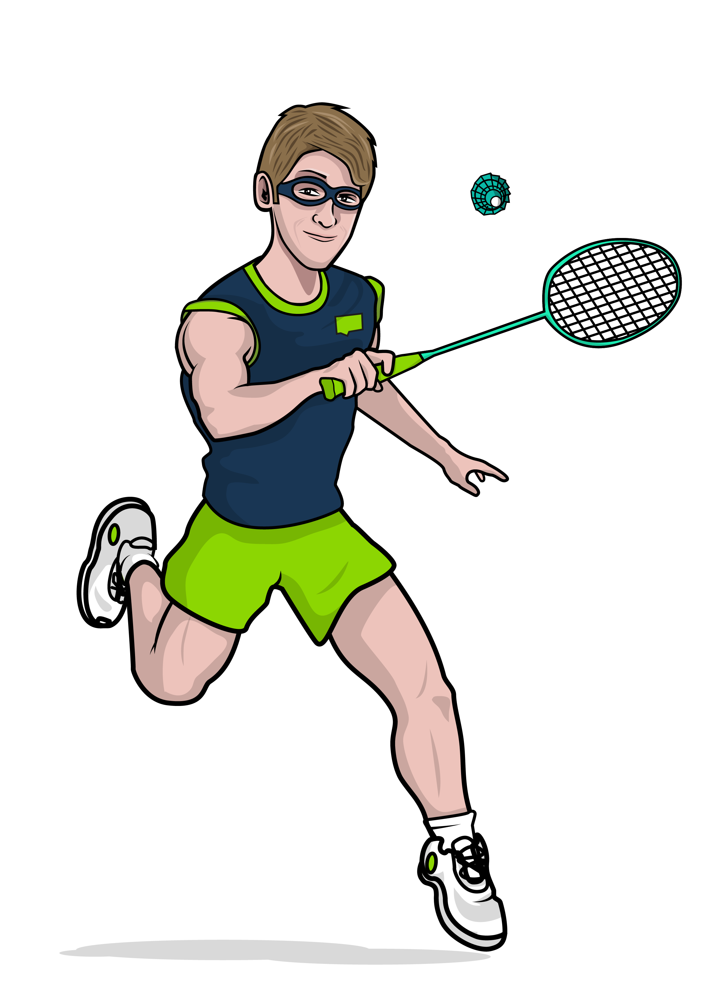 Field Learning Challenges & How Mobile Learning Can Solve ... Badminton Player Png