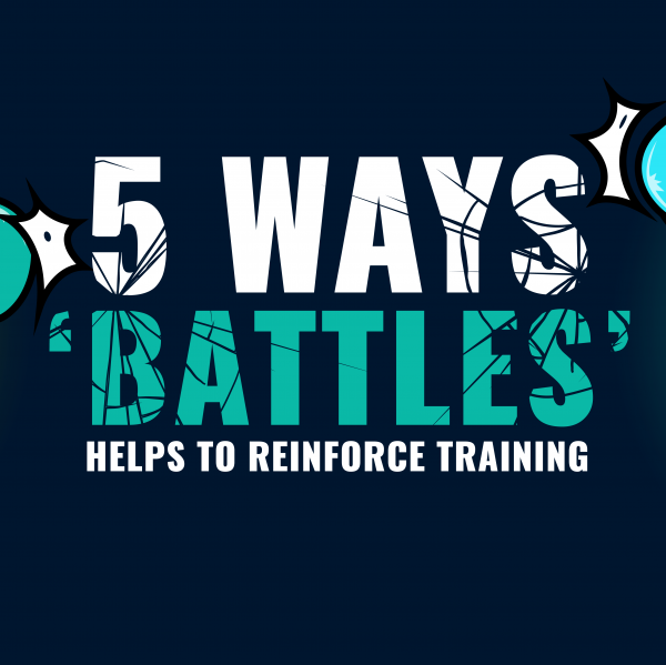 5 ways battles helps to reinforce training