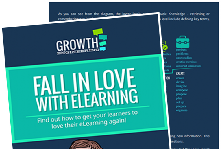 fall in love with elearning WP