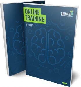Online Training Tip Sheet Cover