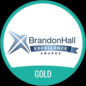Brandon Hall Excellence Award Gold