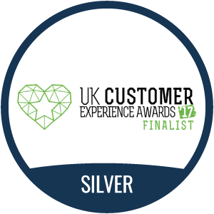 UK Customer Experience Awards 2017 Silver