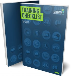 Training Checklist Tip Sheet