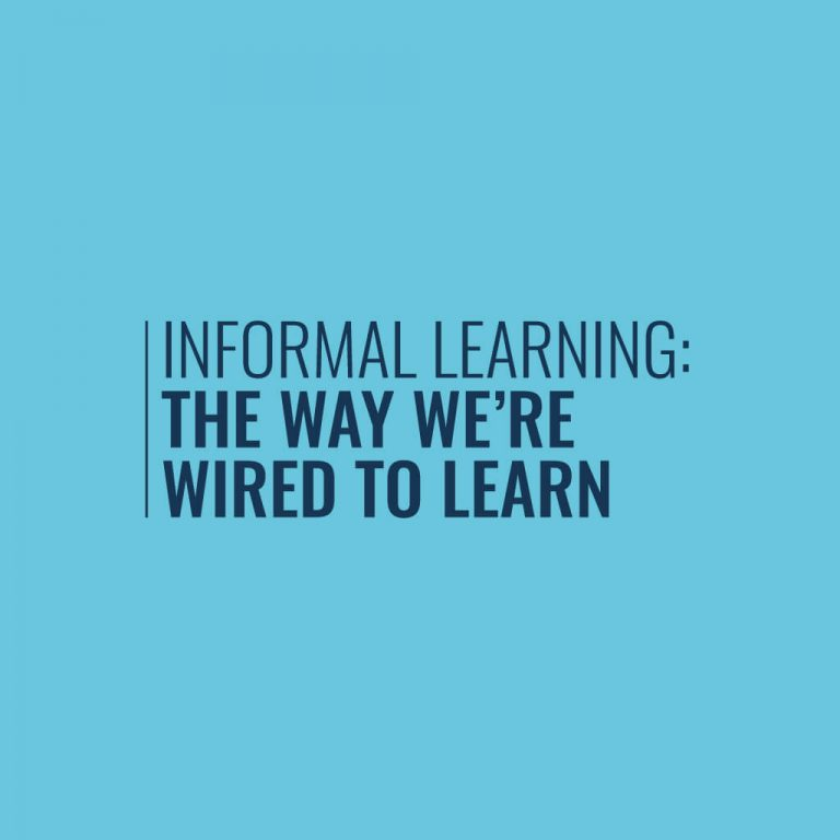 Informal Learning Infographic Cover