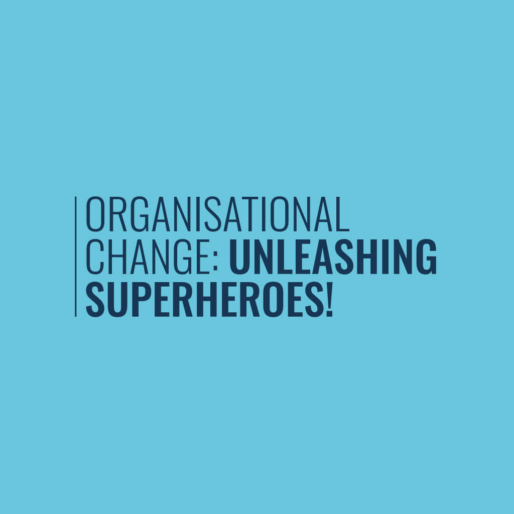 Organisational Change Infographic Cover