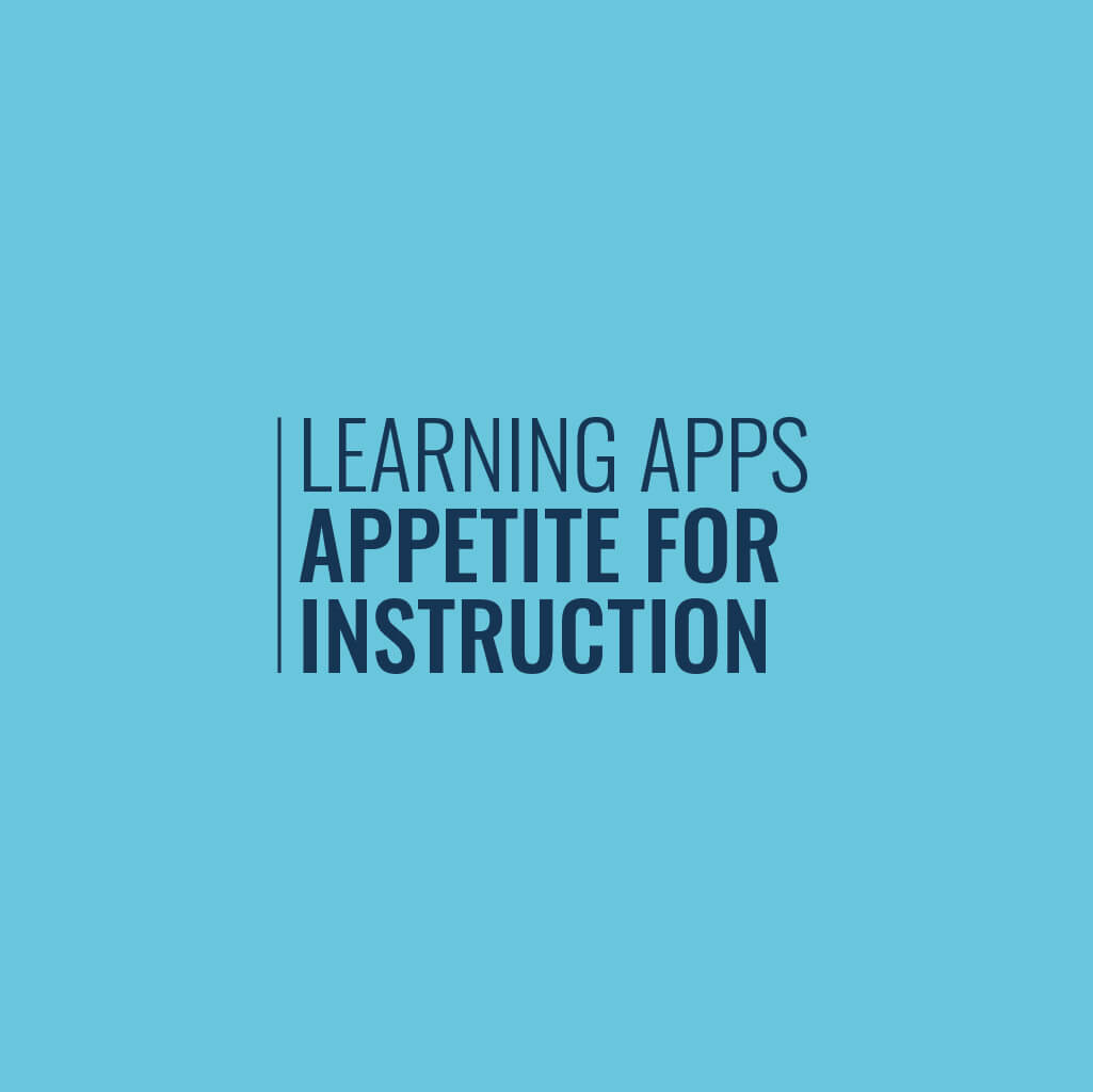 Appetite for instruction infographic