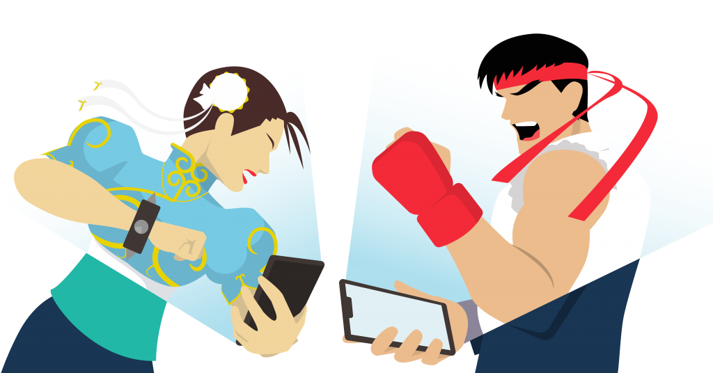 mobile knowledge battle