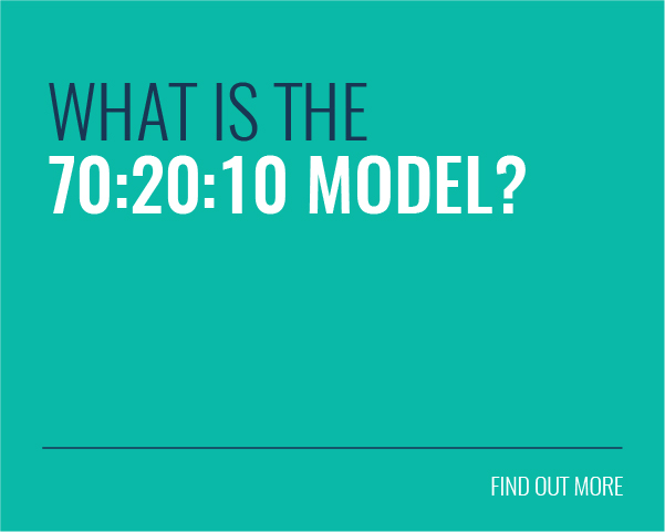 What is the 70:20:10 Model?