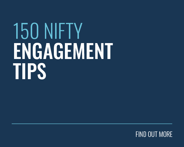 150 Nifty Engagement Tips Blog Post - Find Out More